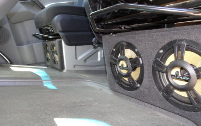 Seat Subs / Dash Stereo